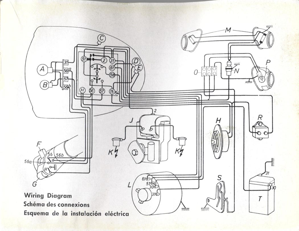 bmw motorcycle slash 2 2 owners manual heads cylinders electrical diagram for 1955 60 r50 r60 and the r69 from 1959 owner s manual more bmw motorcycle information