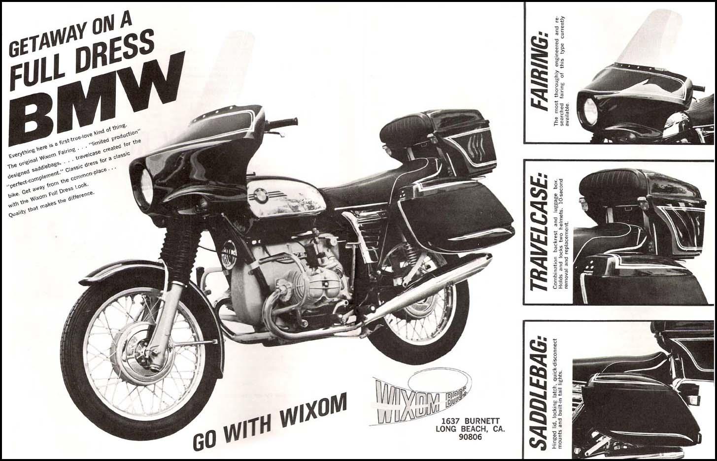 Hard Case Luggage Vintage Bmw Motorcycle Owners