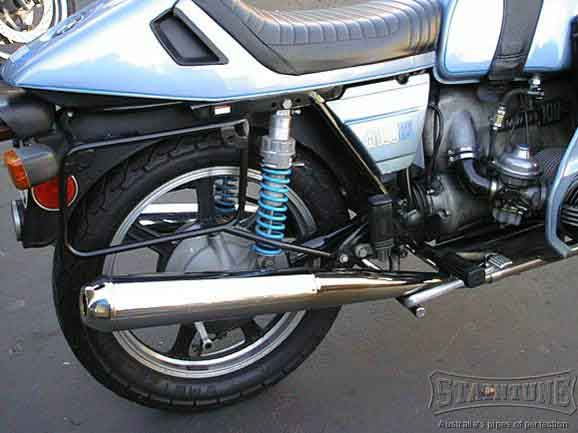 5 mufflers for the BMW motorcycle