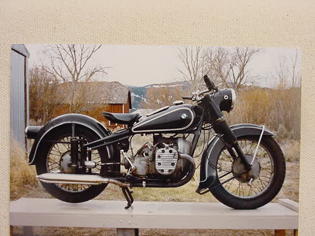 Old Bmw Motorcycles Vintage Victoria Collector Classic