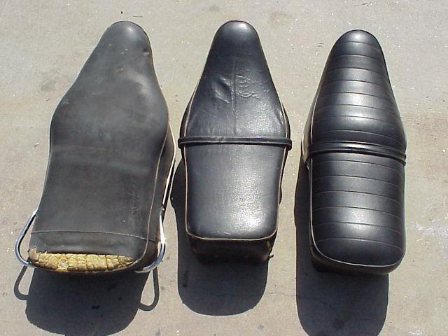 bmw motorcycle bench, banana seats, wide, narrow, schorsch meier